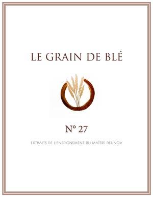 le grain de blé N° 27