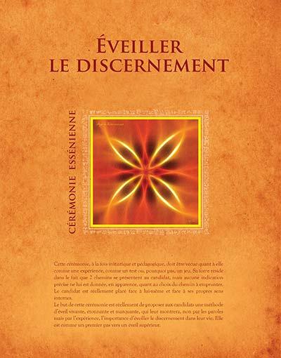 Éveiller le discernement - Cérémonie