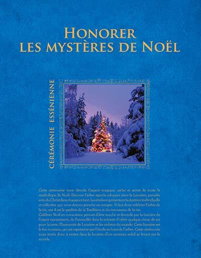 Honorer les mystères de Noël - Cérémonie