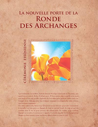 La nouvelle porte de la Ronde des Archanges - Cérémonie