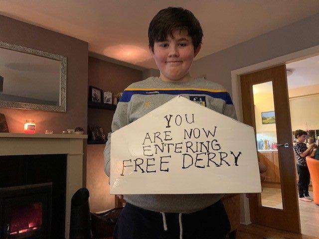 Alex C has created a lifelike model of Free Derry Corner