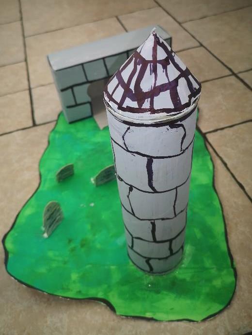 Sky made an amazing Devenish Island model