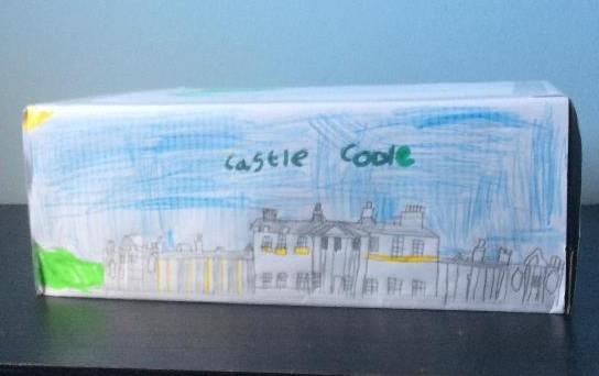 Dovydas drew a beautiful Castle Coole