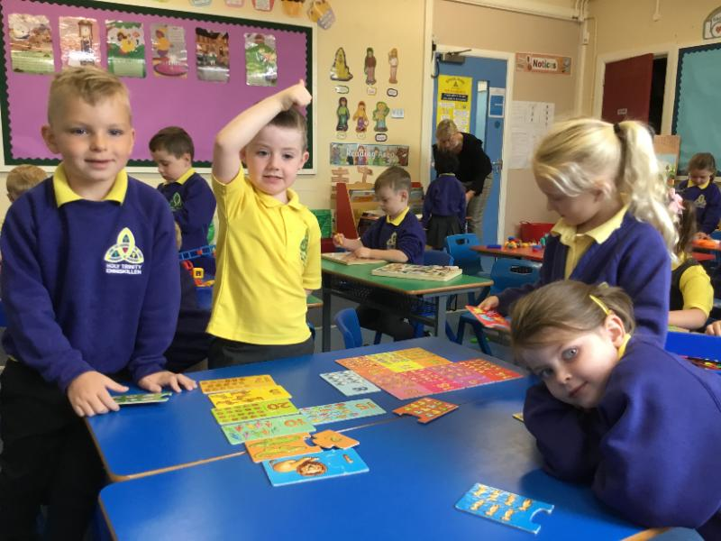 Mrs Fee's P1 class: Learning about numbers