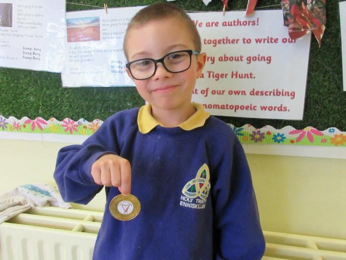 Martin: 1st in P2 Art Competition