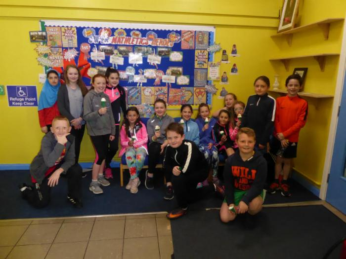 Thank you to our P7 helpers on sports day at KS1, it was lovely to see them all.