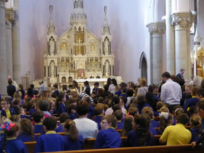 School Mass - some of the congregation