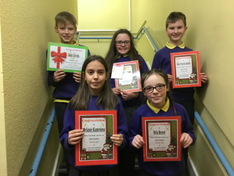 Congratulation to our art competition winners and runners up.