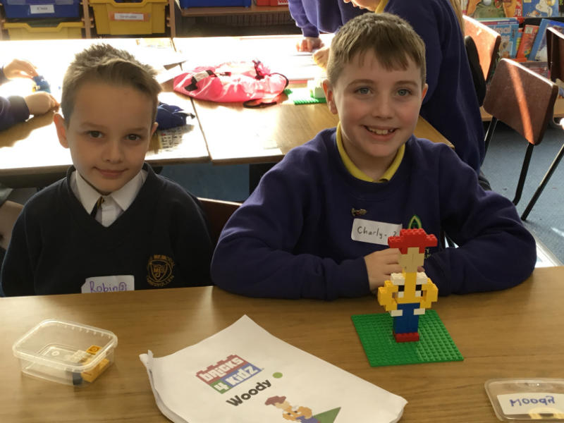Shared Education with Jones Memorial: Lego play
