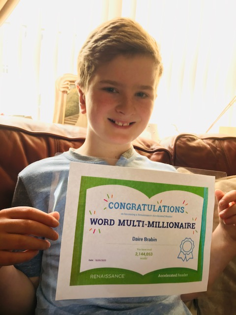 Congratulation's to Daire on being an AR word multi millionaire