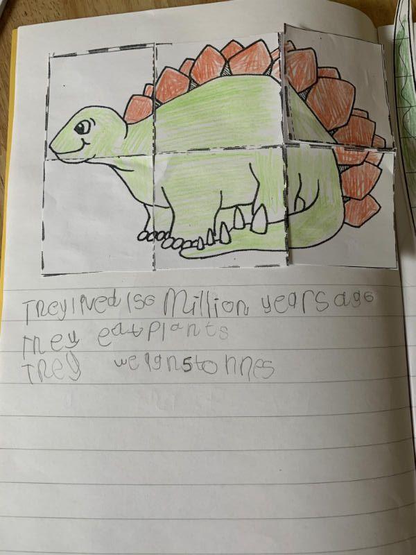 P2 Dinosaur research