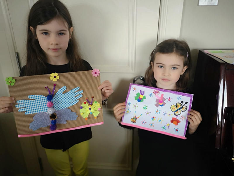 Beautiful Butterfly work by Teagan and Georgia