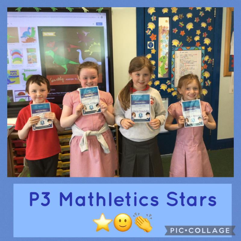 Super Mathletics Sophia, Maria, Olivia and Oliver