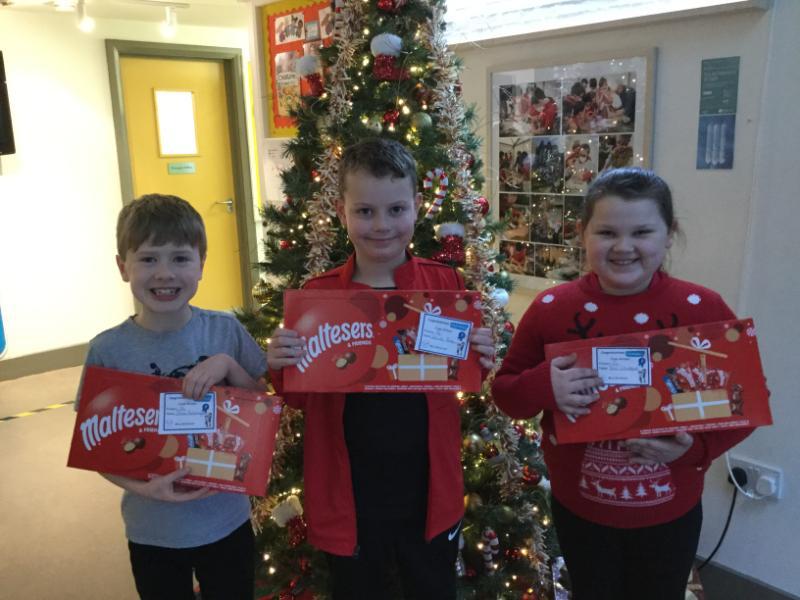 P4 winners are Tara, Daniel and Jonas