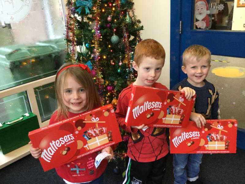 P1 winners are Grace, Finlay and Aodhan