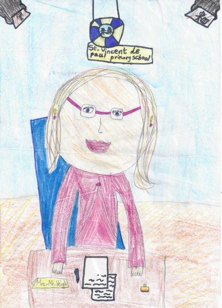 Mrs. McVeigh by Siona
