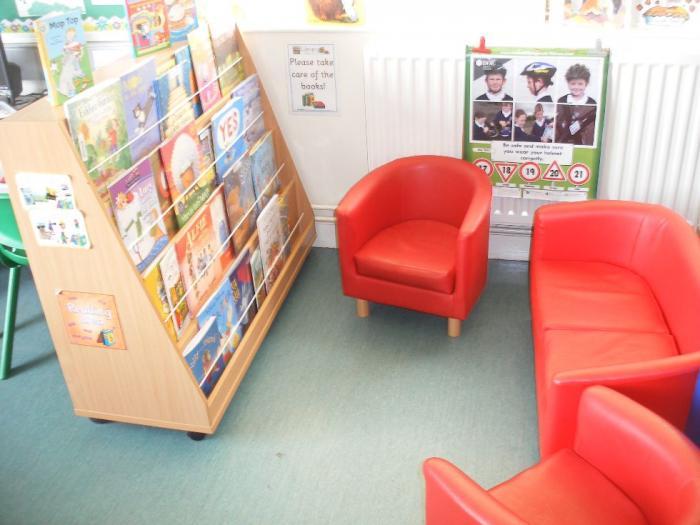 Library Corner Year 2/3 Classroom