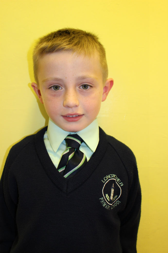 Calum Rudd P3 Mrs Lynch