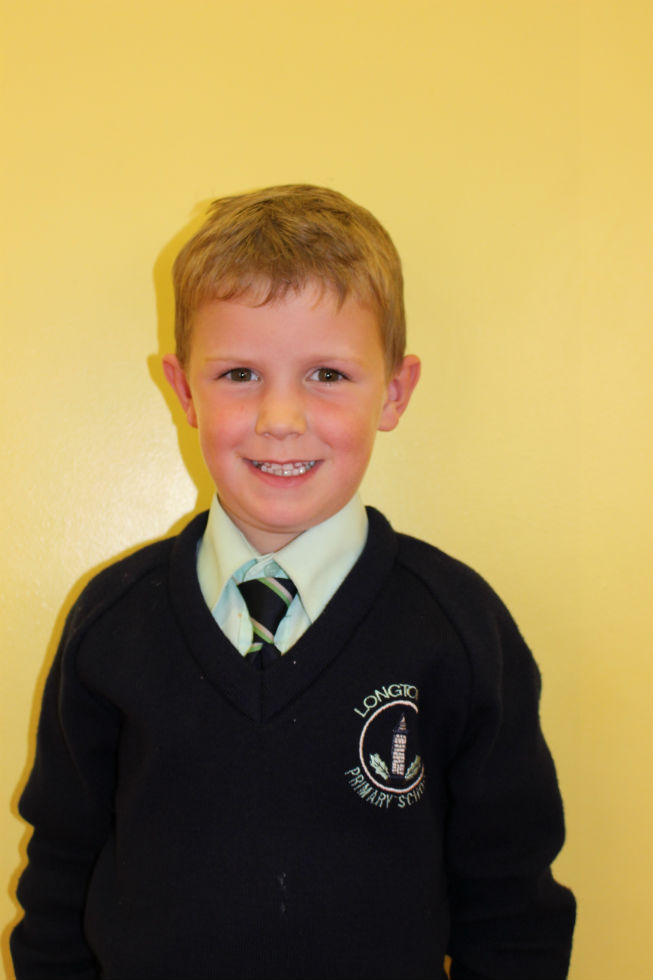Harvey McLaughlin P3 Miss Butler
