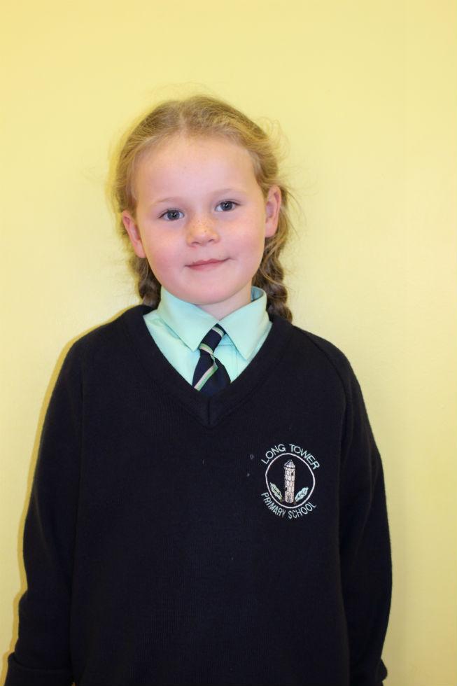 Hannah McGilloway P3 Miss Butler