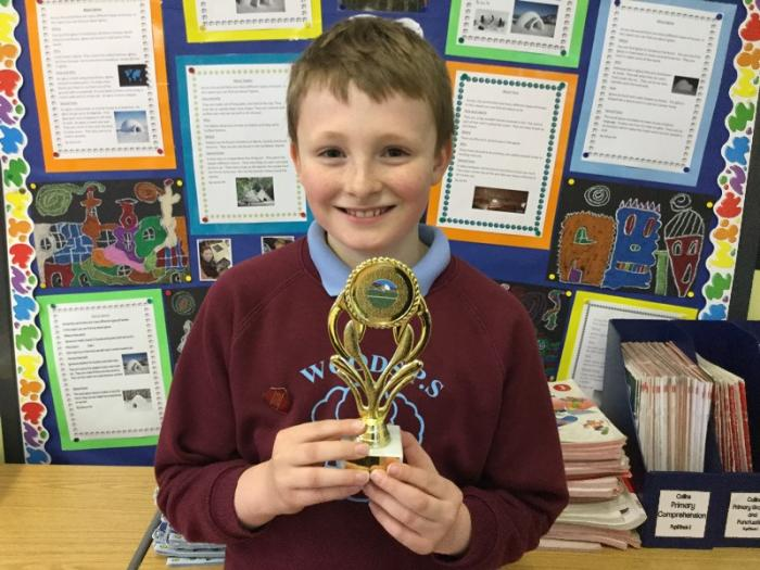 Player of the tournament - Well done James!
