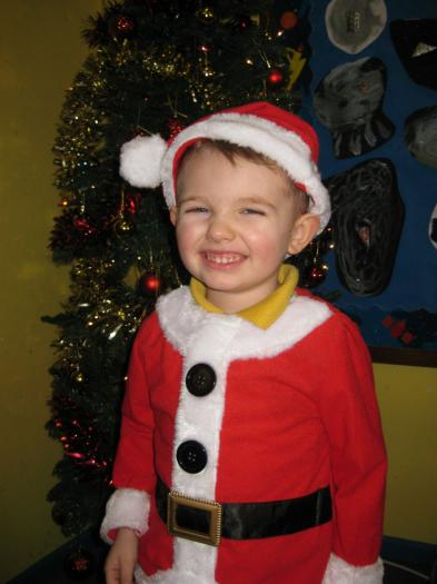 Rueben was Santa