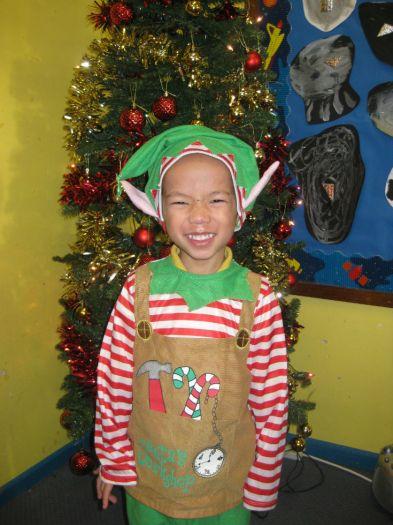 Noah was an elf
