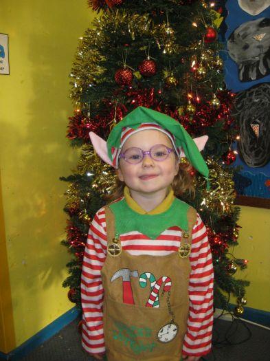 Katie was an elf