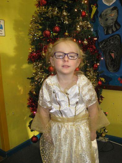 Safiya was a Christmas star
