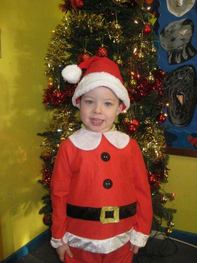 Ethan was Santa