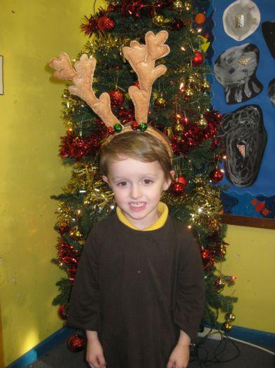 Kyle was a reindeer
