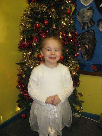 Anya was a snowflake