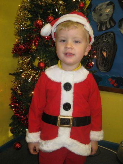 Tom was Santa