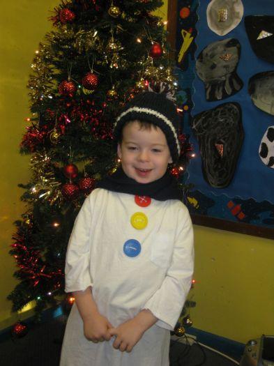 Jacob was a snowman