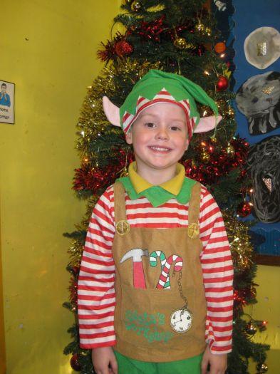 Riley was an elf