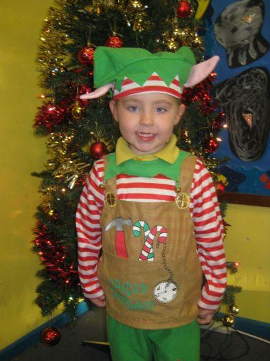 Sophie was an elf