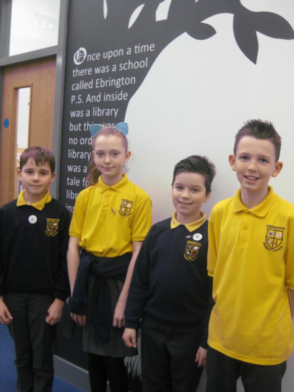 Yr 6 - Cameron, Faye, Hayden & Jack McK