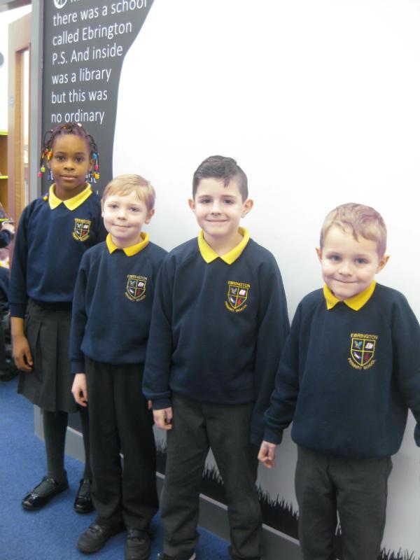 Yr 3 - Ifeoma, Logan, Oliver & Freddie