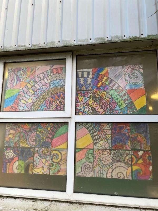 Our Rainbow Mural