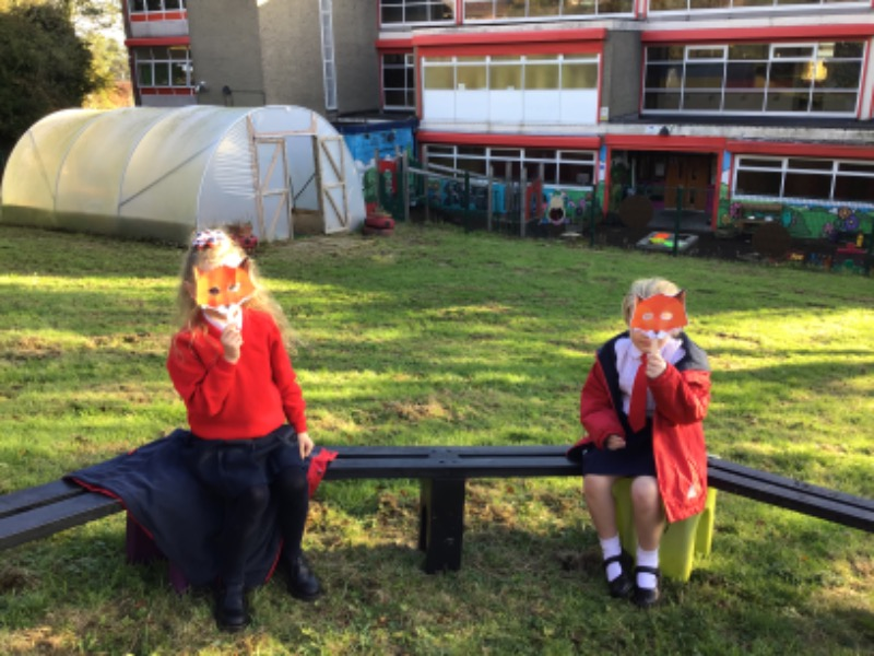 The foxes left their dens today to attend!