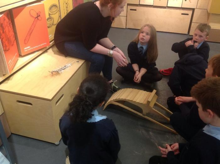We learned about the Clinker style boats.