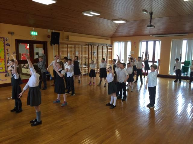 P3 and P4 Dance with Chris Cross