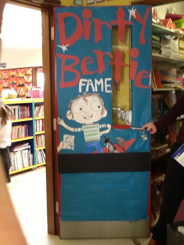 P3/4 Classroom door