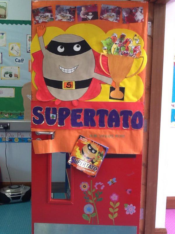 R/P1 Classroom Door