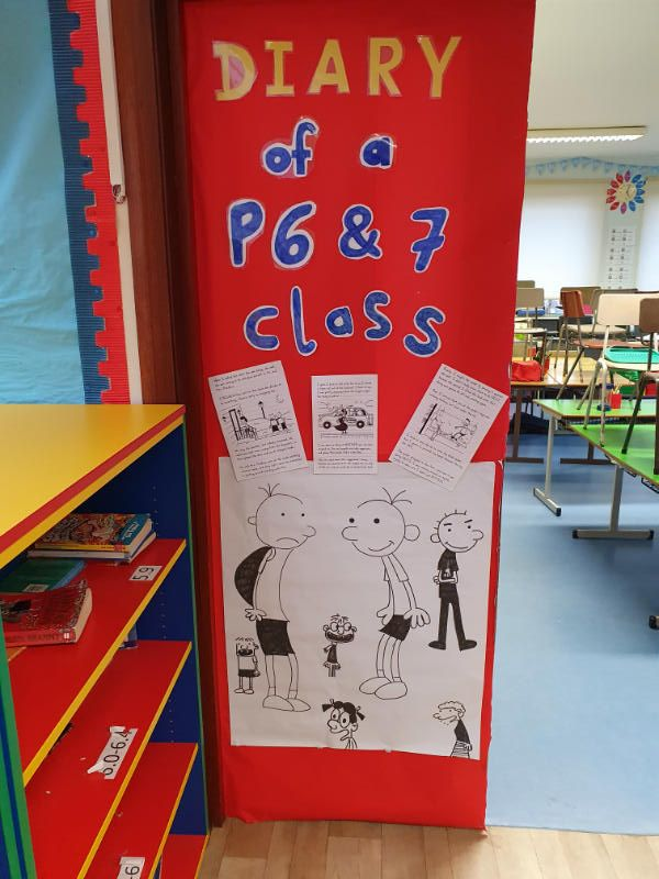 P6/7 Classroom Door