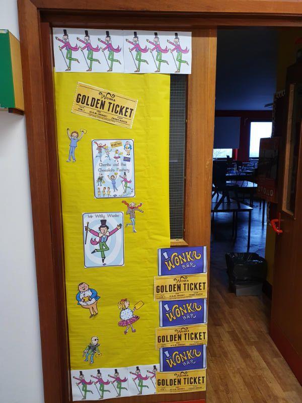 P2/3 Classroom Door