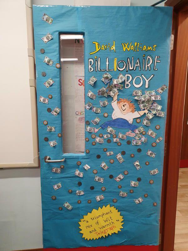 P5/6 Classroom Door
