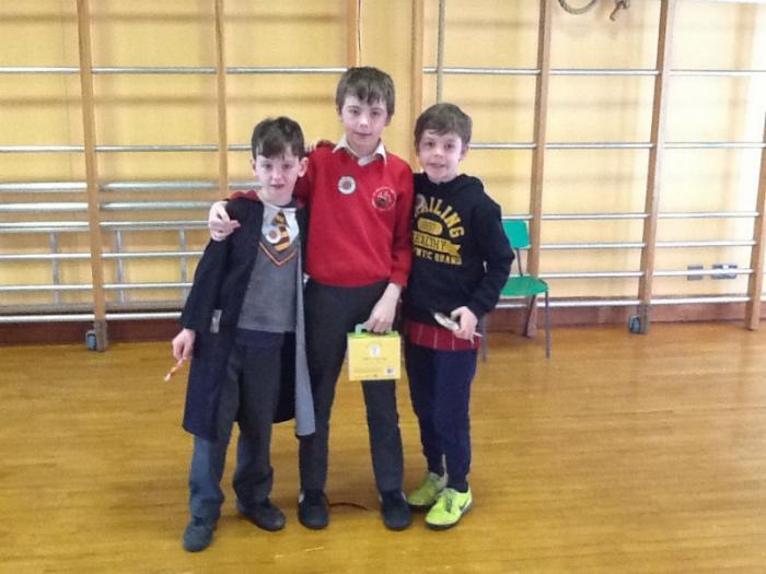 P3/4 Grammar Story Winners