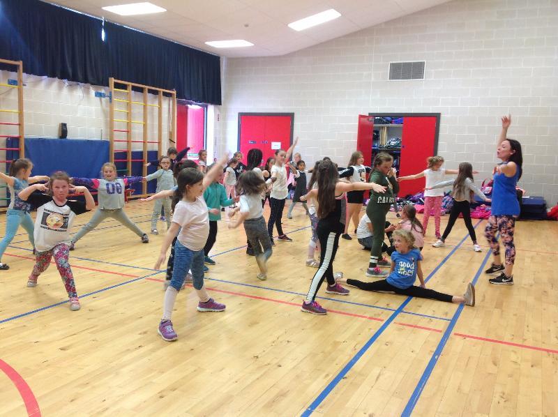 Thursday - Dance club for P4 - P7 children