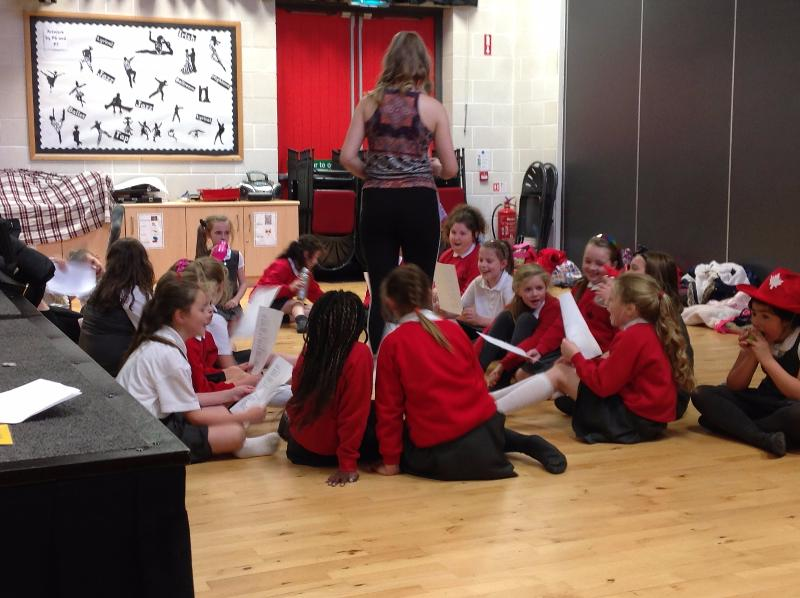 Wednesday - Musical Theatre club for P4 - P7 children